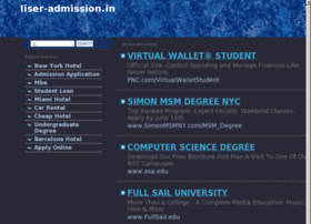 Iiser-admission.in thumbnail