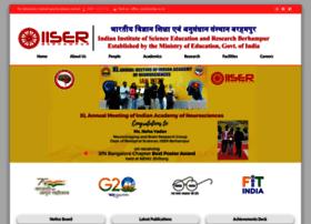 Iiserbpr.ac.in thumbnail