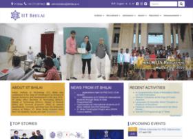 Iitbhilai.ac.in thumbnail
