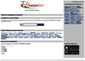 Ilconiugatore Com At Wi Il Coniugatore La Conjugaison Des Verbes Italiens