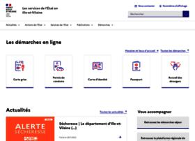 Ille-et-vilaine.gouv.fr thumbnail