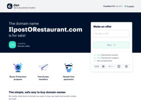Ilpostorestaurant.com thumbnail