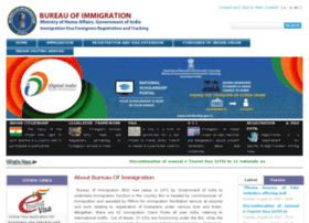 Immigrationindia.nic.in thumbnail