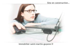 Immobilier-saint-martin-guyane.fr thumbnail