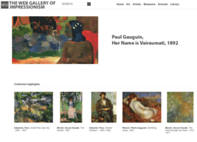 Impressionistsgallery.co.uk thumbnail