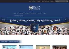 Inaya.edu.sa thumbnail