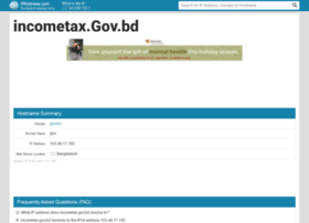 Incometax.gov.bd.ipaddress.com thumbnail