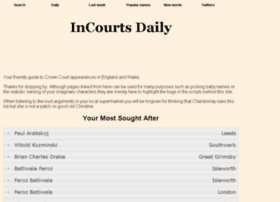 Incourts.co.uk thumbnail