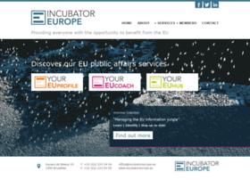 Incubatoreurope.eu thumbnail