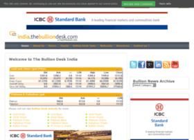 India.thebulliondesk.com thumbnail