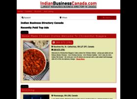 Indianbusinesscanada.com thumbnail