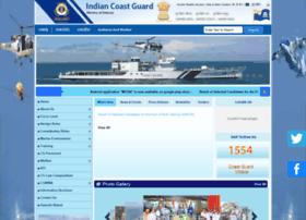 Indiancoastguard.gov.in thumbnail