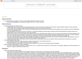 Indiancurrentaffairs.blogspot.com thumbnail