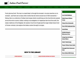 Indianfoodforever.com thumbnail