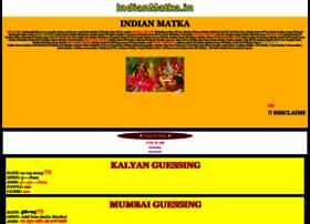 Indianmatka.in thumbnail