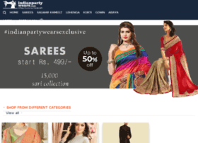 Indianpartywears.com thumbnail