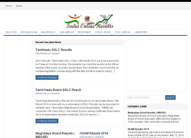 Indiaonlineresults.com thumbnail