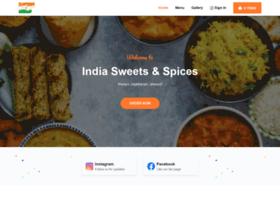 Indiasweetsandspices.us thumbnail