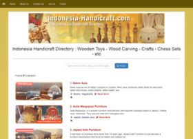 Indonesia-handicraft.com thumbnail