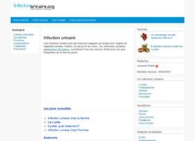 Infectionurinaire.org thumbnail