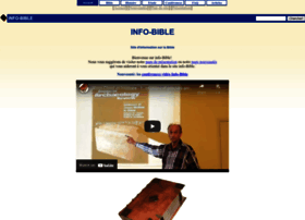 Info-bible.org thumbnail