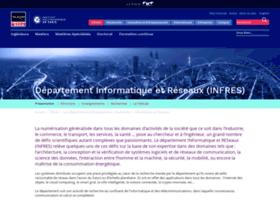 Infres.telecom-paristech.fr thumbnail