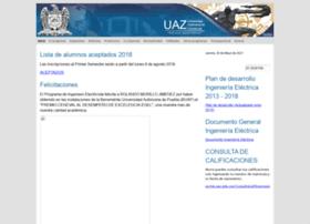 Ingelectrica.uaz.edu.mx thumbnail