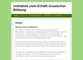 Initiative-zum-erhalt-musischer-bildung.de thumbnail