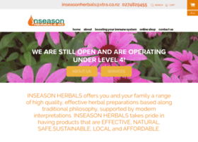 Inseasonherbals.co.nz thumbnail