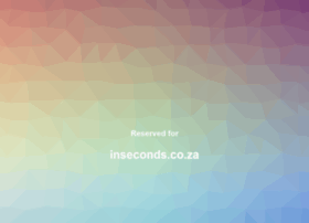 Inseconds.co.za thumbnail