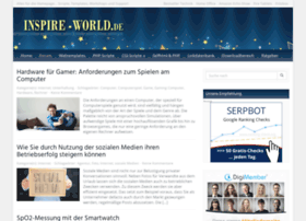 Inspire-world.de thumbnail