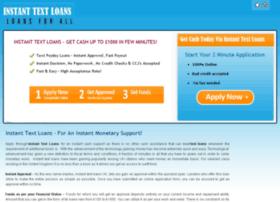 Instant-text-loans.co.uk thumbnail