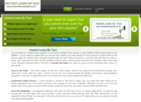 Instantloansbytext.co.uk thumbnail