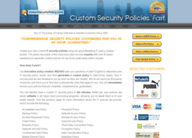 Instantsecuritypolicy.com thumbnail