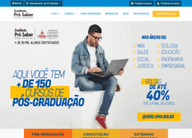 Institutoprosaber.com.br thumbnail