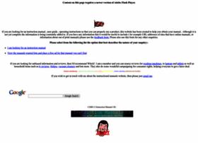 instruction-manuals.co.uk at WI. Instruction Manuals UK ...