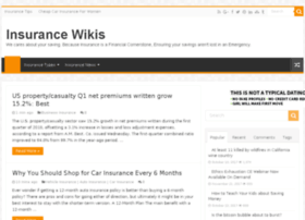Insurancewikis.com thumbnail