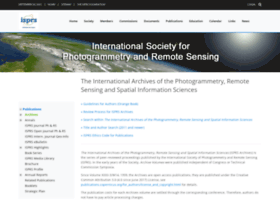 Int-arch-photogramm-remote-sens-spatial-inf-sci.net thumbnail
