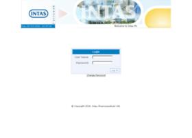 Intasintraweb.intaspharma.co.in thumbnail