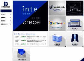 Intecrece.co.jp thumbnail
