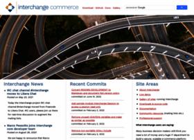 Interchangecommerce.org thumbnail