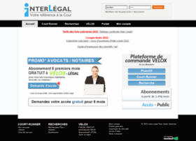 Interlegal.qc.ca thumbnail