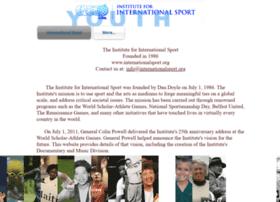 Internationalsport.org thumbnail