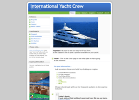 Internationalyachtcrew.com thumbnail