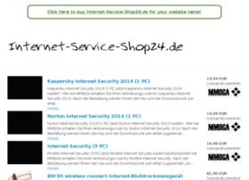 Internet-service-shop24.de thumbnail
