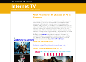 Internettv.insingaporelocal.com thumbnail
