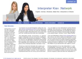 Interpreterkiev.net thumbnail