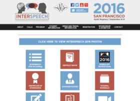 Interspeech2016.org thumbnail