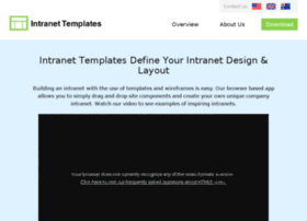 Intranet-templates.com thumbnail