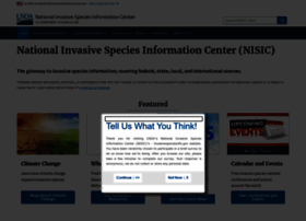 Invasivespeciesinfo.gov thumbnail